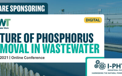 I-Phyc speaking at the WWT Future of Phosphorus Removal in Wastewater Conference